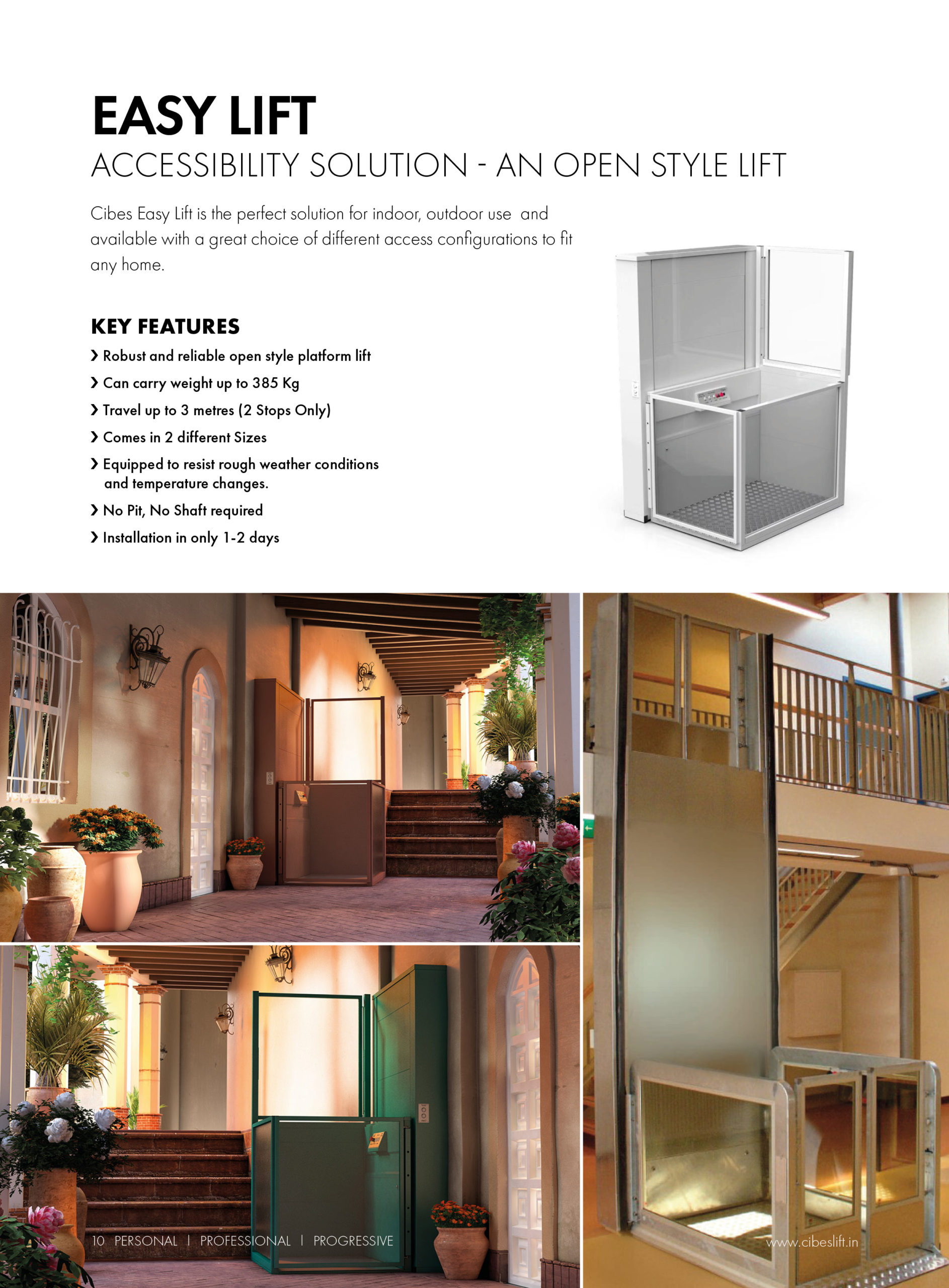 K385 Home Lift by Kalea Philippines